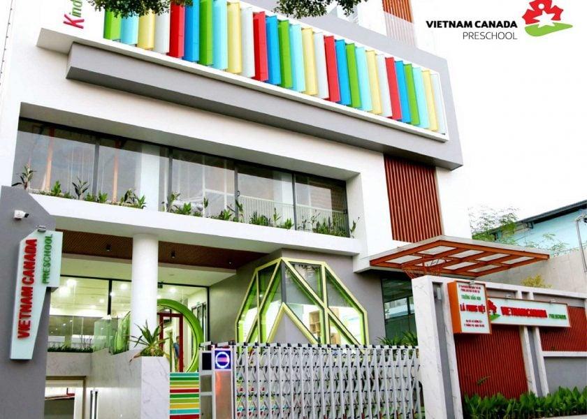 Trường mầm non quốc tế montessori Vietnam Canada Preschool